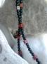 Šungitový náhrdelník jaspis