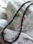 Šungitový náhrdelník karneol
